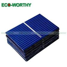 80pcs 39x26MM Poly Solar Cells for DIY Solar Panel Cellphone Battery Charger