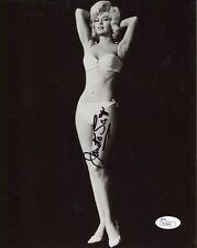 JANETTE SCOTT HAND SIGNED 8x10 PHOTO         GORGEOUS+SEXY ACTRESS       JSA