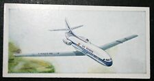 AIR FRANCE   CARAVELLE   Vintage Illustrated Card # VGC