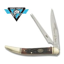 Collector's Edition Large Fish Knife by North American Fishing Club F1701