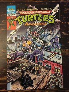 Teenage Mutant Ninja Turtles Adventures #8 (Archie, 1990) Free Combine Shipping