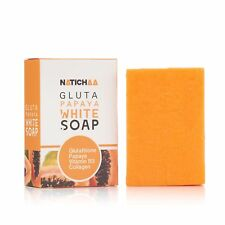 NATICHAA Body & Face Glutathione & Papaya Natural Whitening Non Caustic Soap SN