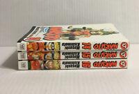 Naruto Shonen Jump Masashi Kishimoto Manga Books 14 15 16 Lot