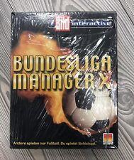 *** Bundesliga Manager X *** PC *** NEU & OVP *** VERSCHWEIßT *** in DVD BOX
