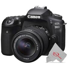 Canon EOS 90D 32.5MP APS-C Built-in Wi-Fi DSLR with 18-55mm Lens