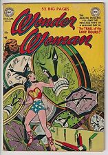 Wonder Woman # 46 VG+ 4.5 SOLID COPY SCARCE ! ONLY 24 EVER GRADED BY CGC ! WOW !