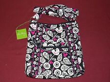"Vera Bradley & Disney Parks ""Mickey Meets Birdie"" Large Cotton Shopper Tote NWT"