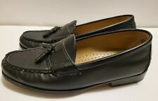 Mens Casual Black Puritan Johnie Loafers Size 9 Synthetic Material