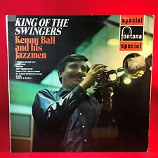 KENNY BALL King Of The Swingers 1969  UK vinyl LP  EXCELLENT  CONDITION live a