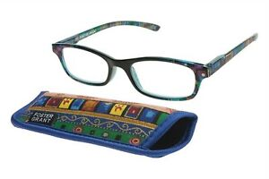 Foster Grant reading glasses Allegra blue. All strengths