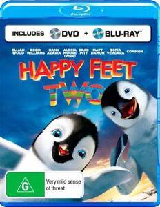 Happy Feet Two BLU RAY (PAL, 2011, 2 Disc Set) FREE POST