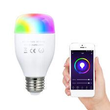 7W Wi-Fi Smart Bulb Voice APP LED Light Wireless Bulb Timing Multicolored N1C9