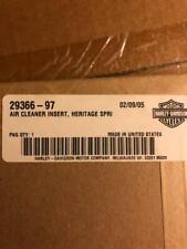 """Harley Davidson 1997 """"Heritage Springer"""" Air Cleaner Trim Insert OEM 29366-97"""