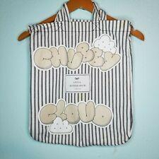 Anya Hindmarch Chubby Cloud Print Tote Bag Over Shoulder