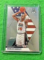 CHARLES BARKLEY MOSAIC CARD JERSEY#14 USA BASKETBALL 2019-20 MOSAIC BASKETBALL