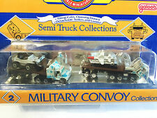 RARE 2nd SERIES SEALED 1990 Micro Machines Flatbed Semi Truck MILITARY CONVOY #2
