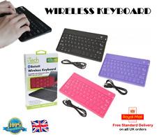 Teclado Inalámbrico Bluetooth Teclado Suave Silicona Teclado Ipad Tab Teléfono PC
