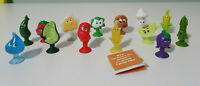 COLES STIKEEZ FRESH FRIENDS SERIES 2 14 DIFFERENT ONES GLITTERY CONNOR CORN!