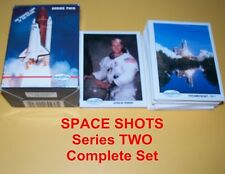 Space Shots - series 2  Complete Trading Card Set  Astronauts , Space Shuttle
