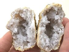 Quartz - Calcite Naturally Split & Occurring Mineral Geode/Nodule, Morocco
