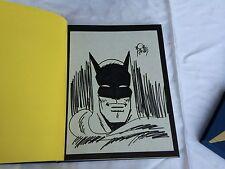 Batman  and Me KANE, BOB  1989   LIMITED  EDITION  (738/1000) CHECK PICS