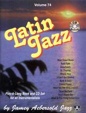Jamey Aebersold Jazz Play-Along 74 Latin Jazz Noten mit CD