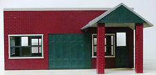WALLY'S STANDARD SERVICE G 1:24 Model Railroad Unptd Styrene Structure Kit CMS10