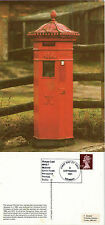 1982 VICTORIAN STAMP MACHINE MPB 13 POSTCARD FIRST DAY OF SALE SHS
