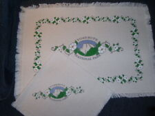 4 Woven Placemats & Napkins - YOSEMITE NATIONAL PARK - NEW