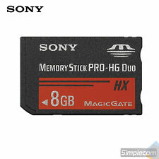 SONY 8GB Memory Stick PRO-HG Duo MS-HX8B 8G 50MB/S