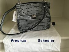 PROENZA SCHOULER Gray Kent Satchel Bag (NWT/100% Authentic)