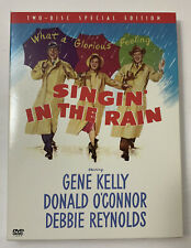 Singin in the Rain Dvd 2002 2-Disc Set Two Disc Special Edition Gene Kelly