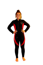 Women's 5mm Front Zip Wetsuit - XS - TommyDSports Comfort Stretch Series - 5210