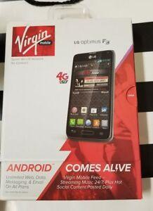 LG Optimus F3 4G No-Contract (Virgin  PREPAID Mobile)  BRAND NEW