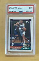 1992 Topps #393 Alonzo Mourning RC 💥 PSA 9 MINT 📈 ROOKIE