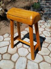 Rustic Saddle Stand Horse Log Cabin Wood Style Quilt Blanket Stand Western Style