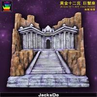 Jacksdo Saint Seiya Myth Cloth Diorama Cancer Temple Limité 100