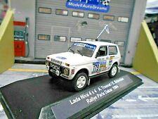 LADA Niva 4x4 Rallye Raid Paris Dakar 1984 #179 Trossat VSD UMBAU IXO base 1:43