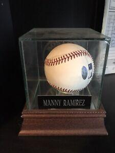 Manny Ramirez Signed Baseball Autographed Boston Red Sox
