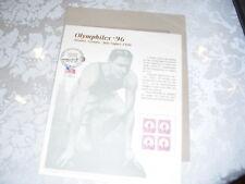 BEP OLYMPHILEX '96 SOUVENIR INTAGLIO PRINT