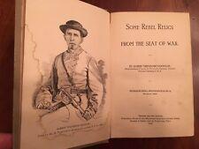 RARE 1893 Rebel Relics, Goodloe, 35th ALABAMA Volunteer Infantry CONFEDERATE 1st
