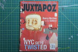 Juxtapoz Magazine Number 21 July Aug 99 Barry Mcgee twist NYC Grafitti