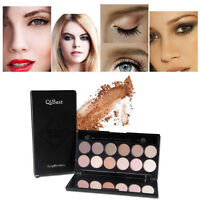 12 Farben Matte Eyeshadow Palette Makeup Concealer Lidschatten Kosmetikpalette