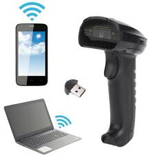 Bluetooth Wireless Automatic Barcode Scanner Reader Wired for Android iOS