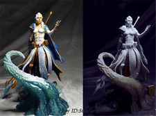 WOW Jaina Proudmoore Unpainted Resin Kits Model GK Figure 3D Print 15cm