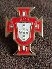 Portugal Portuguese International Football Logo Crest Enamel Pin Lapel Badge