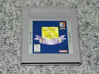 Game and Watch Gallery Nintendo Gameboy Cartridge Only Authentic Tested/Working