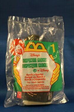 Vintage McDonalds Toy Giveaway Inspector Gadget Narvik 7 Sparker 1 NIP