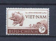 1952 South Vietnam Stamps Coastal Scene and UPU Emblem Sc # 18 MNH