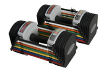 *New* PowerBlock U-20 Adjustable Dumbbells Pair 2.5-20lbs Expandable to 90lbs